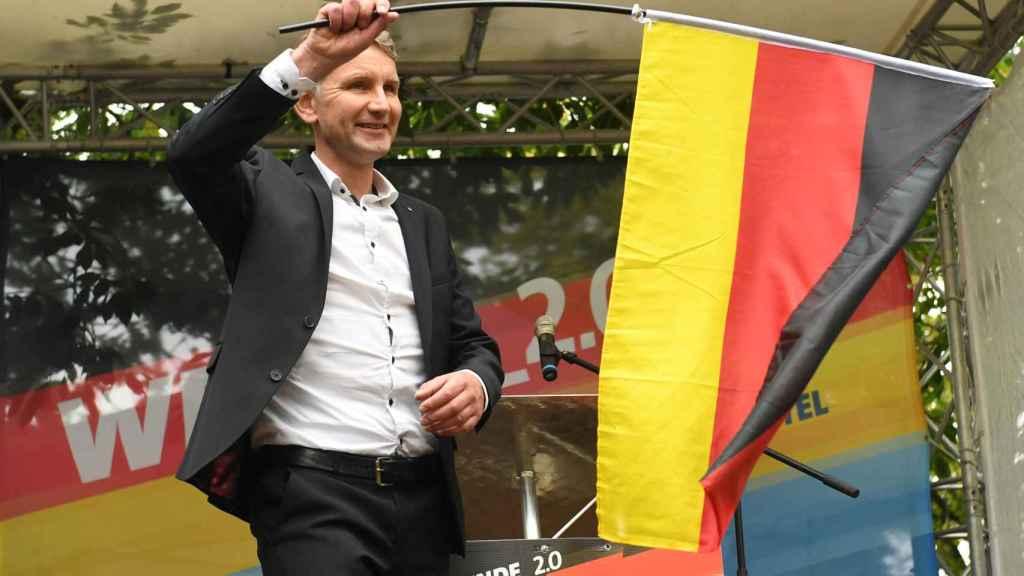 El líder del partido ultraderechista AfD en Turingia, Björn Höcke.