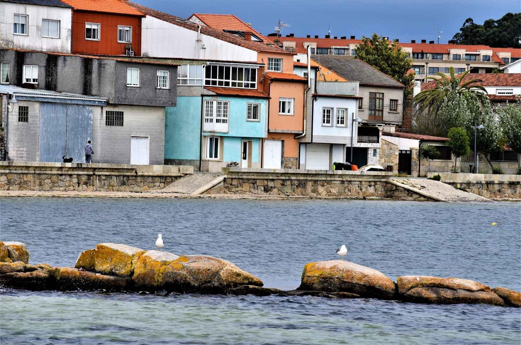 Puerto de Cambados, Pontevedra.
