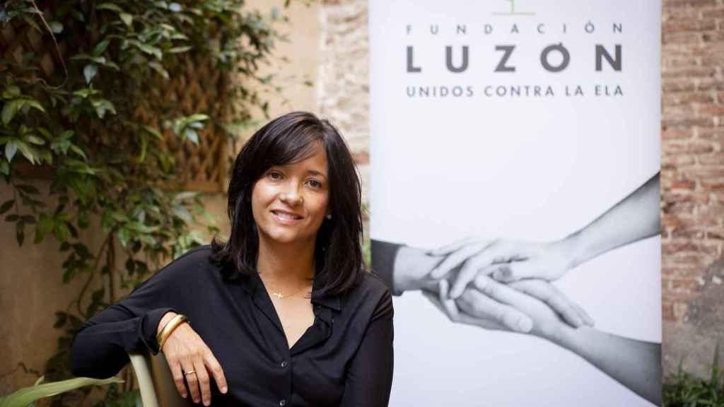 María José Arregui, vicepresidenta de la Fundación Luzón