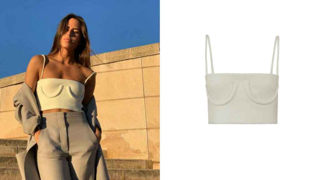 La 'influencer' Nina Urgell ha mostrado su cara más reivindicativa en uno de sus últimos 'looks'.