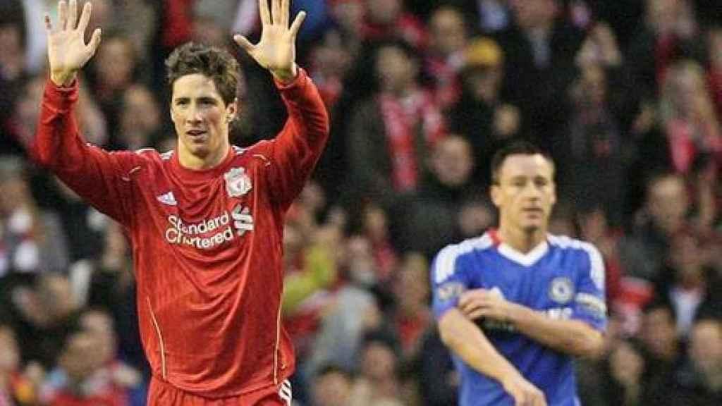 Fernando Torres volverá a jugar con el Liverpool en marzo