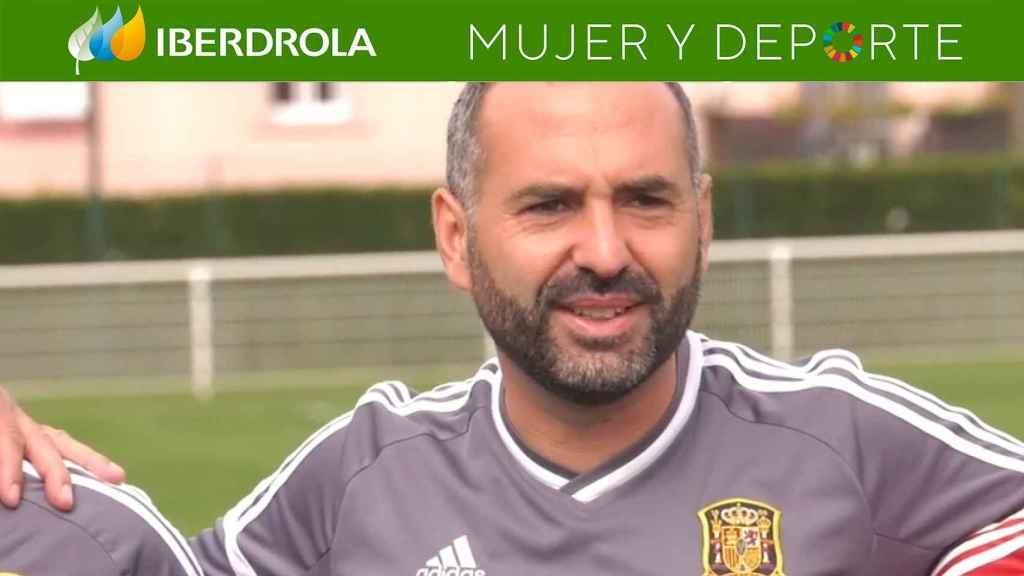 Pedro López, seleccionador de España sub20 femenina