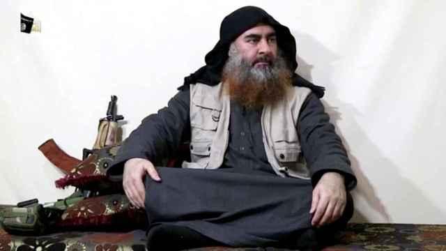 Abu Bakr al Baghdadi, en una imagen difundida por el ISIS en abril de 2019.