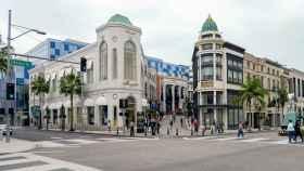 Rodeo Drive, la zona comercial de Beverly Hills.