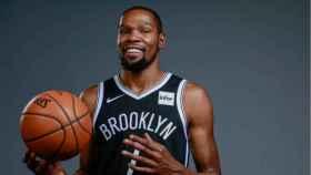 Kevin Durant, con los Brooklyn Nets