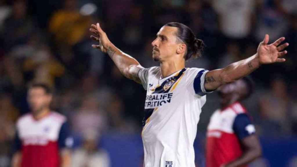 Zlatan Ibrahimovic, con Los Ángeles Galaxy