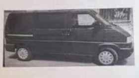 Imagen de la furgoneta difundida por la Policía.