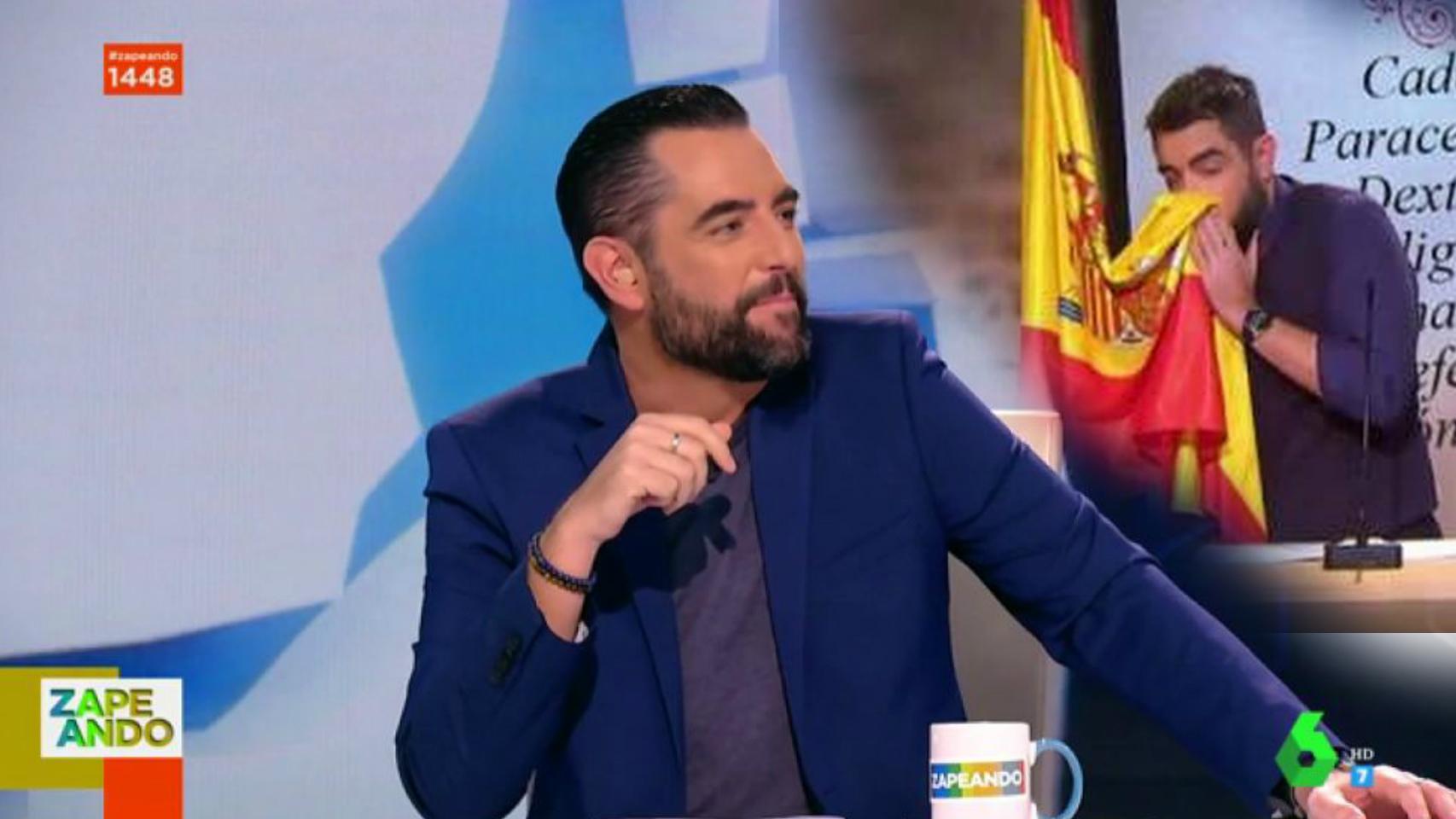 El presentador Dani Mateo ha dejado atrás la gran polémica que le persiguió durante meses el año pasado.