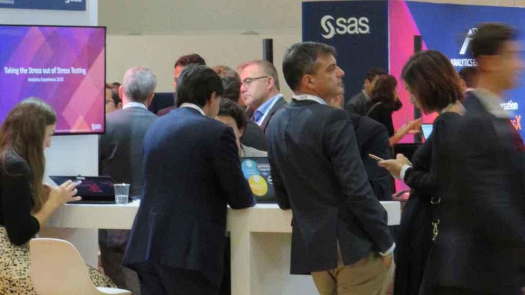 Asistentes al Analytics Experience de SAS en Milán