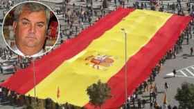 La empresa de José Luis Sosa Dias se ha convertido en un referente en cuanto a fabricación de banderas.