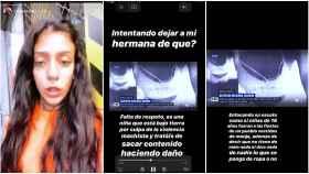 Valeria se quejó a través de sus redes sociales de la imagen compartida por Espejo Público.