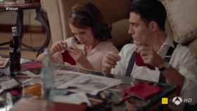 Publicidad subliminal de Coca Cola en 'Velvet'
