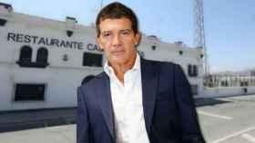 Antonio Banderas en un montaje de JALEOS.