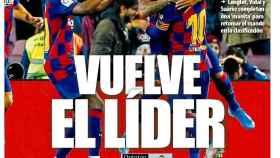 Portada Mundo Deportivo (30/10/19)