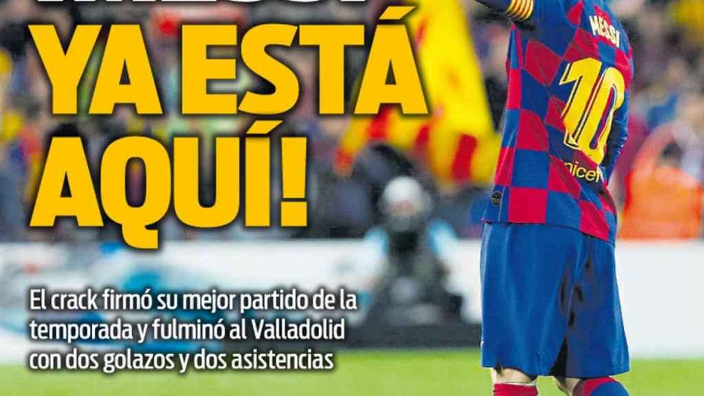 Portada Sport (30/10/19)