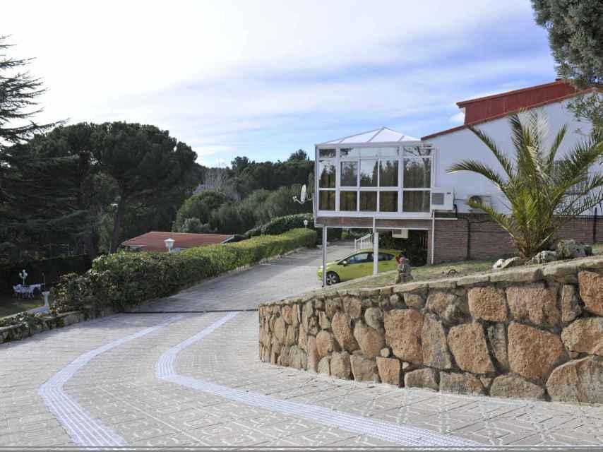 La casa de 'Camilín' vista desde fuera.