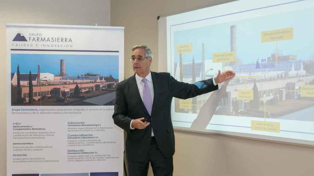 Tomás Olleros, presidente de Farmasierra.