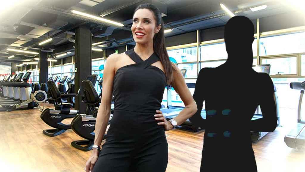 Pilar Rubio en un montaje de JALEOS.