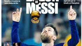 Portada Mundo Deportivo (31/10/19)