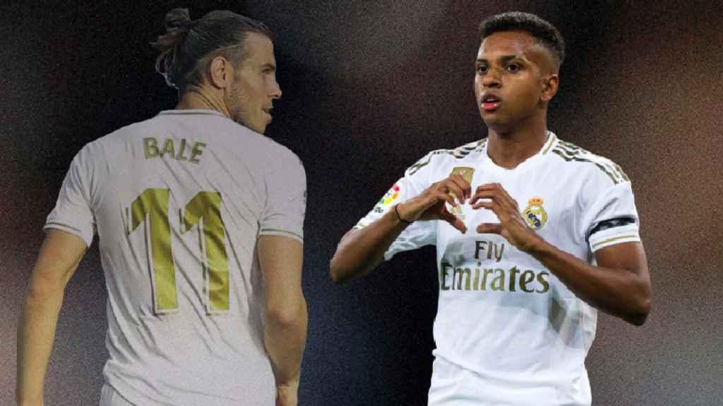 Gareth Bale y Rodrygo Goes