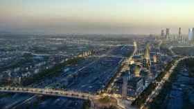 Imagen del futuro Madrid Nuevo Norte