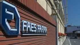 El logo de Faes Farma.