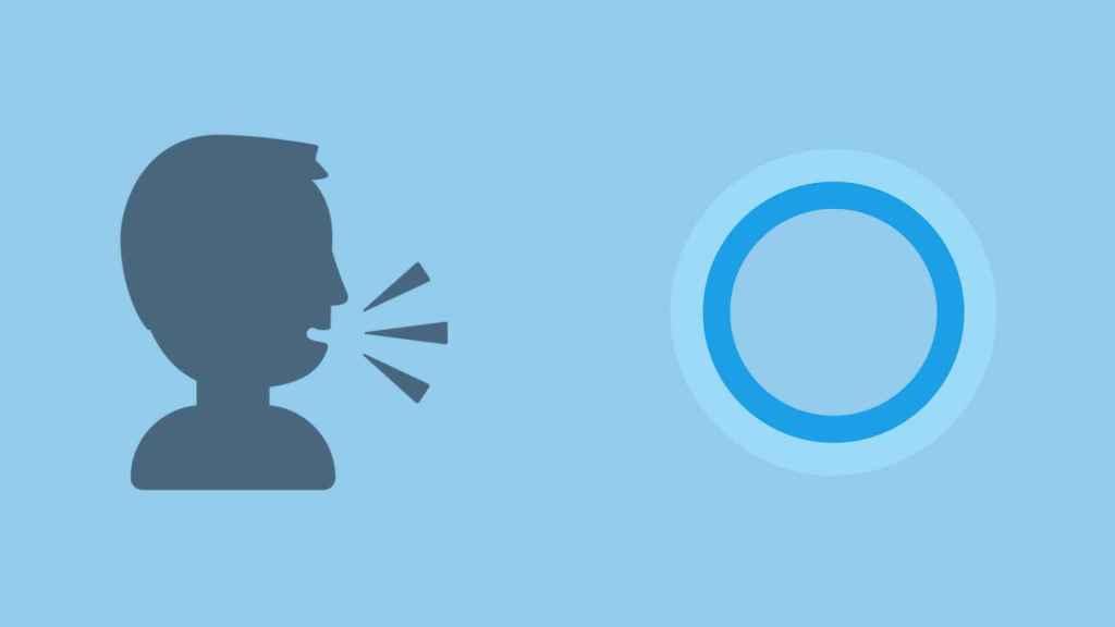 Cortana, el asistente de voz de Microsoft.