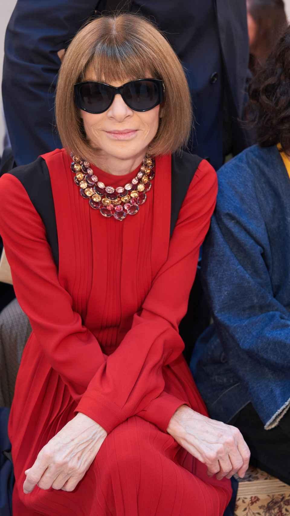 Anna Wintour es todo un referente en el mundo de la moda.