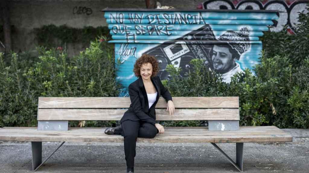 La directora de orquesta Lucía Marín, esta semana en Madrid.