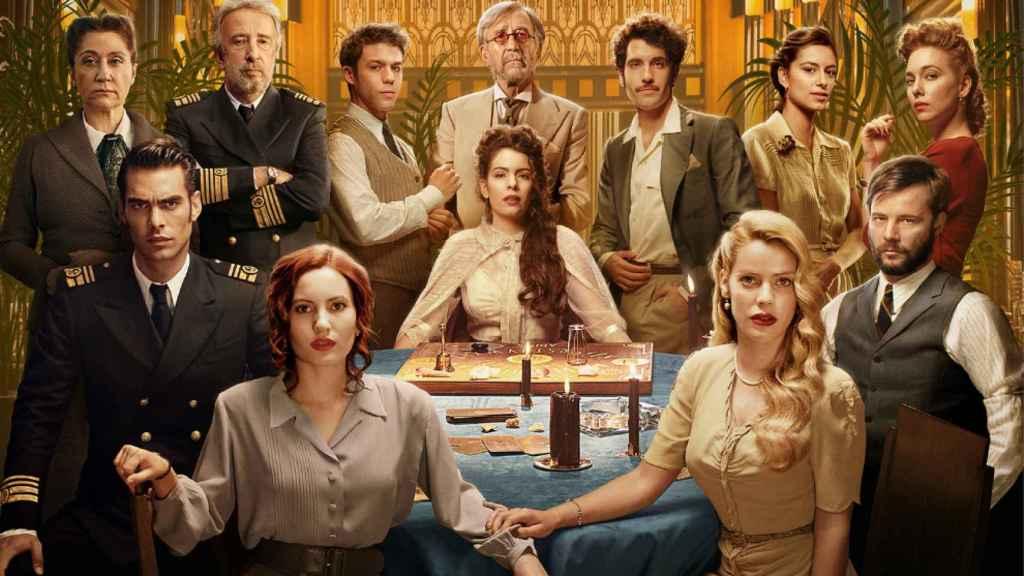 El reparto de la segunda temporada de 'Alta Mar' (Netflix)