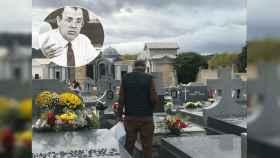 Nicolás visita la tumba de su mujer en el cementerio de Mingorrubio.