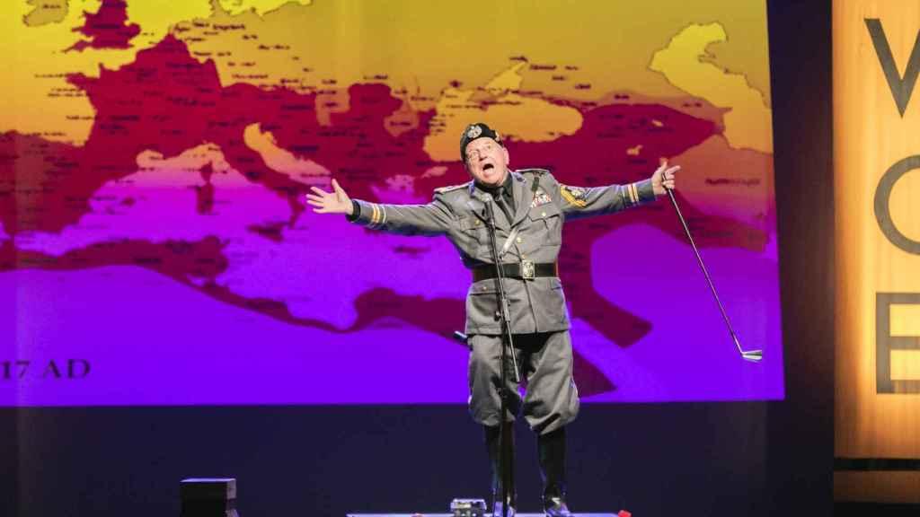 'Yo, Mussolini'.