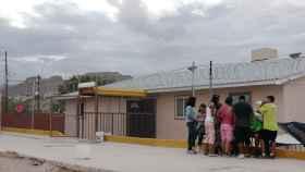 Niños dentro del albergue Agua Viva.