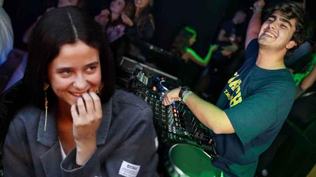 Victoria Federica y Jorge Bárcenas se dejaron ver muy cómplices en la fiesta de Halloween.
