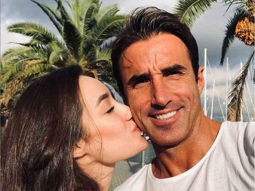 Adara y Hugo Sierra tienen un hijo en común.
