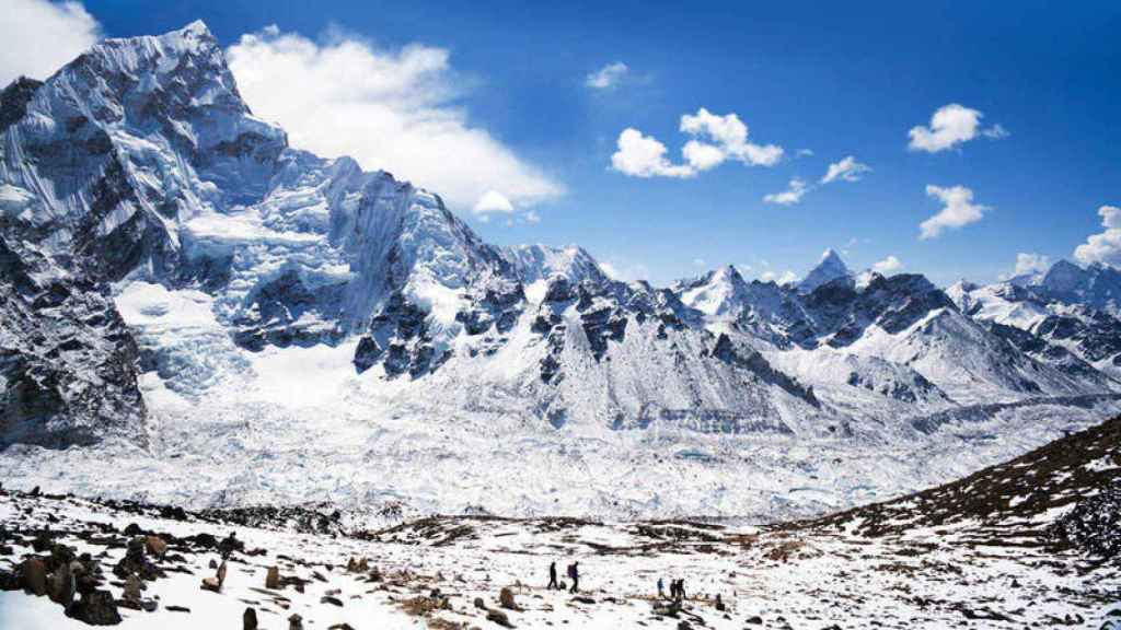 La cordillera del Himalaya (Nepal).