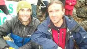 El alpinista fallecido, Fernando Sánche