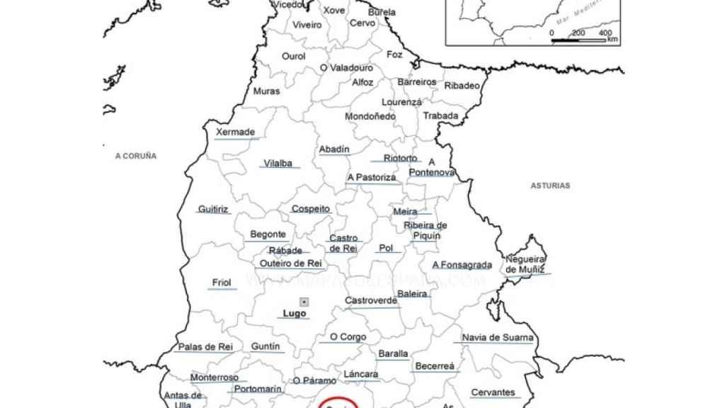 Alba tiene que recorrer cientos de kilómetros para trabajar en Lugo desde su casa, en Sarria.