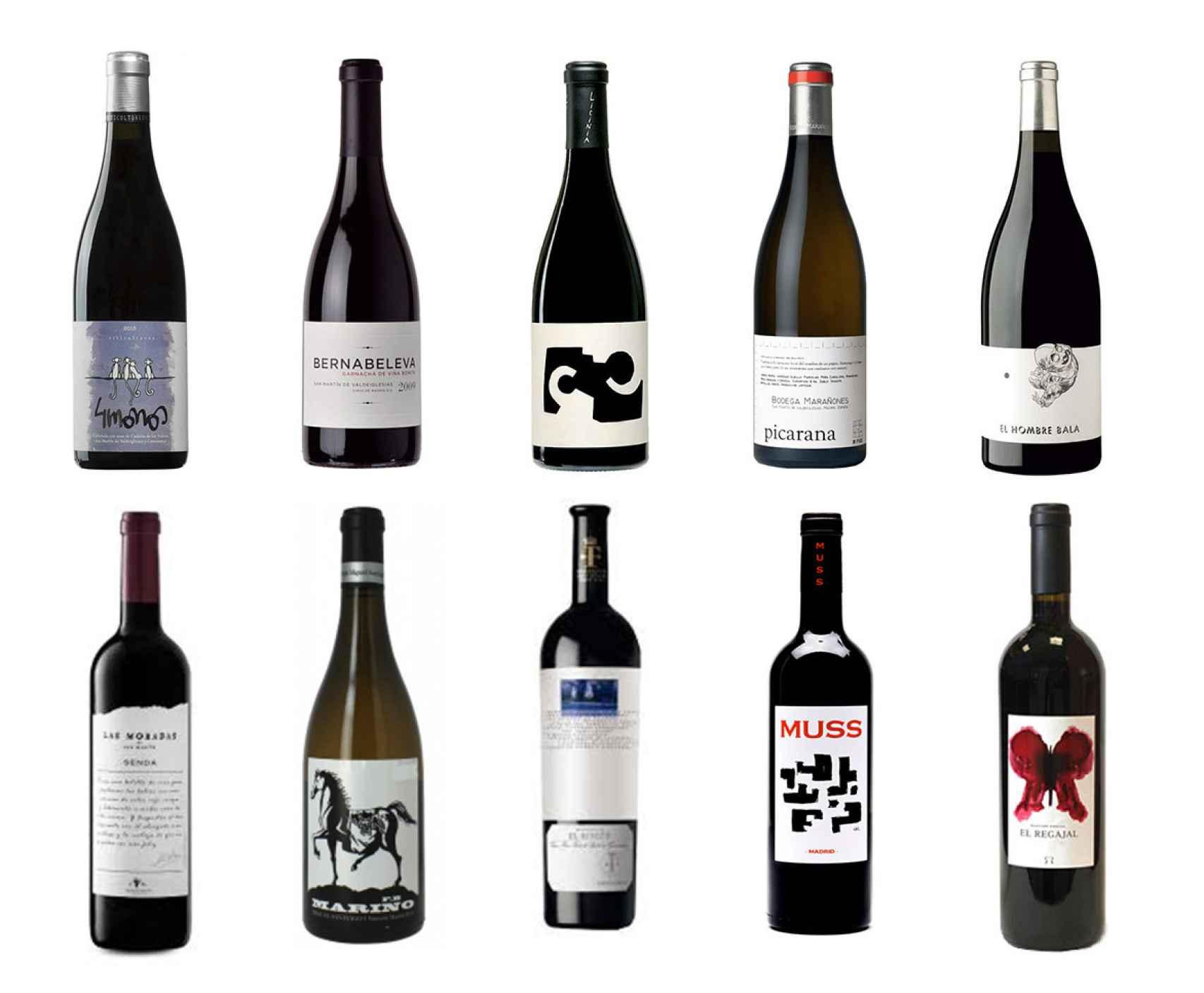 10 vinos madrileños que debes probar.