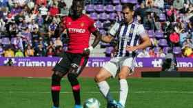 El Valladolid se impone al Mallorca el día que Sandro volvió a marcar casi dos años después
