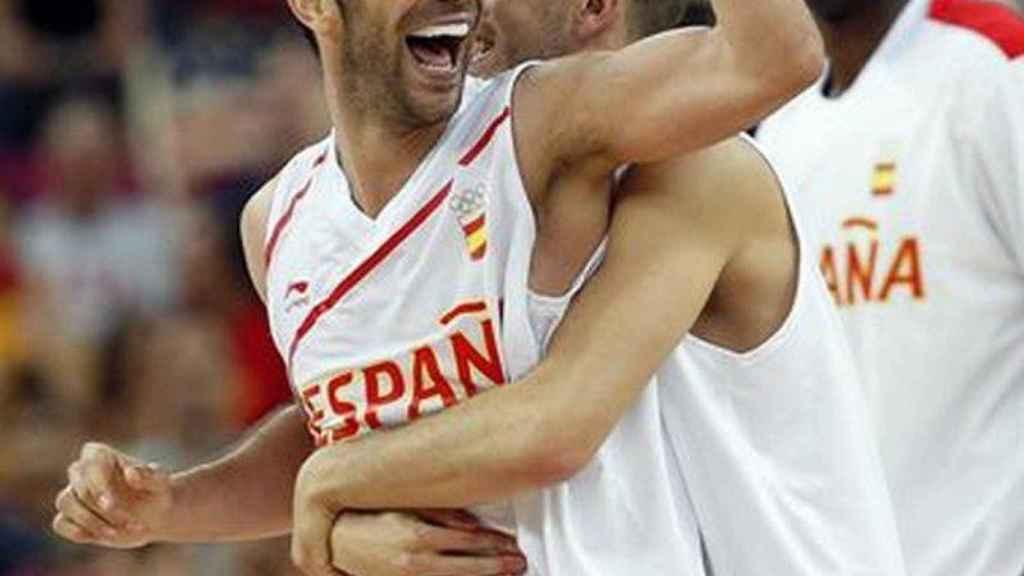 Calderón, con la selección española