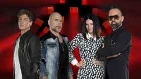 Los jueces de 'Factor X' (Mediaset)