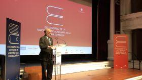 Santiago Muñoz Machado, durante la inauguración del Congreso de la ASALE.