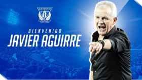 Javier Aguirre, nuevo técnico del Leganés.
