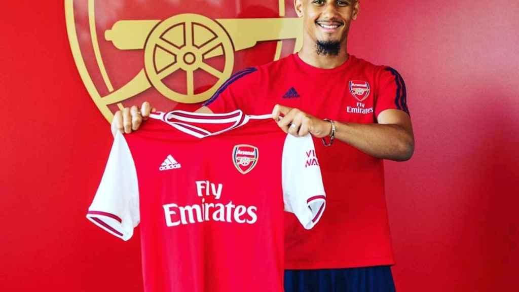 William Saliba, tras fichar por el Arsenal