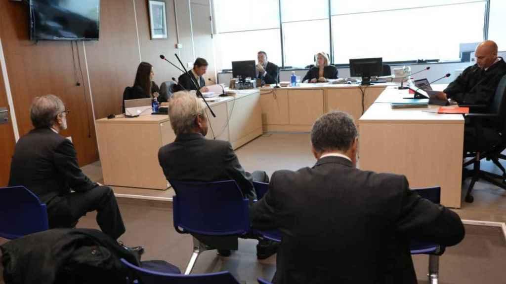 Jaime Botín durante el juicio.