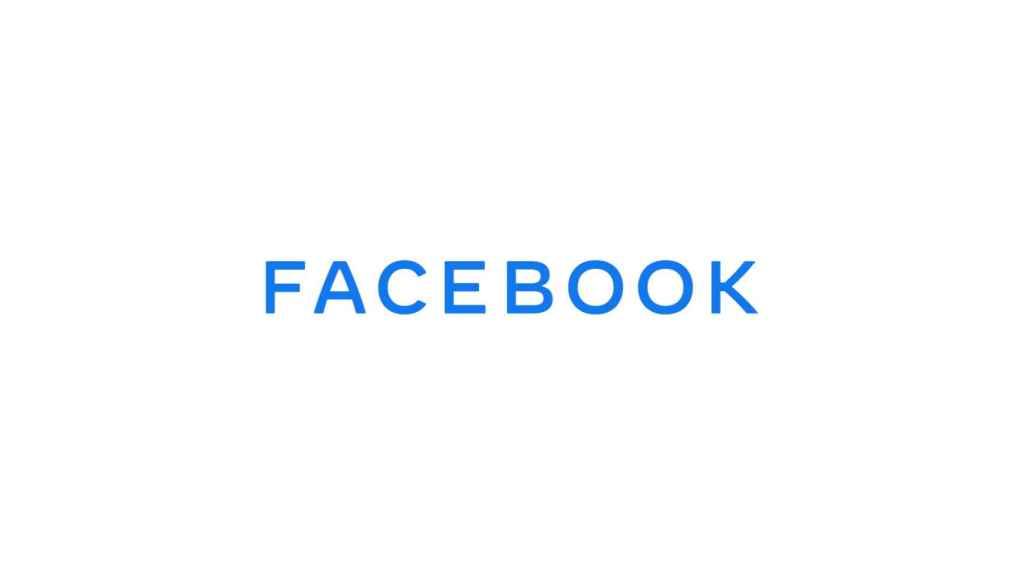 Nuevo logo de Facebook.
