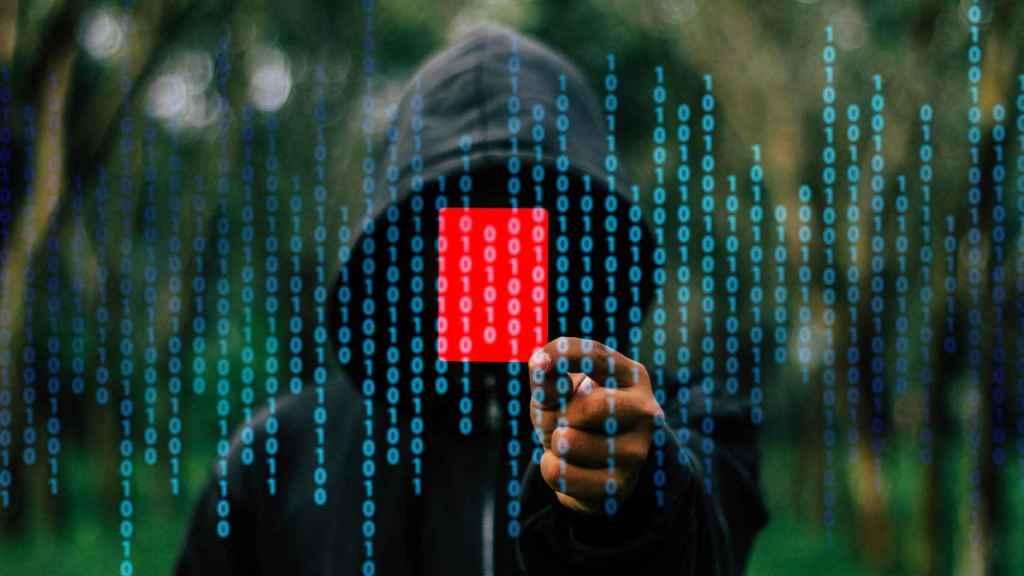 Imagen conceptual de un hacker.