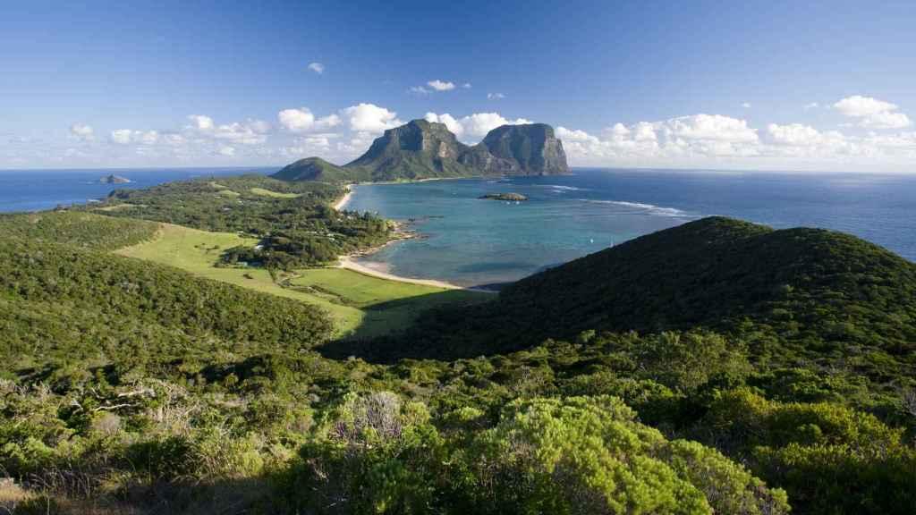Vistas de Lord Howe.