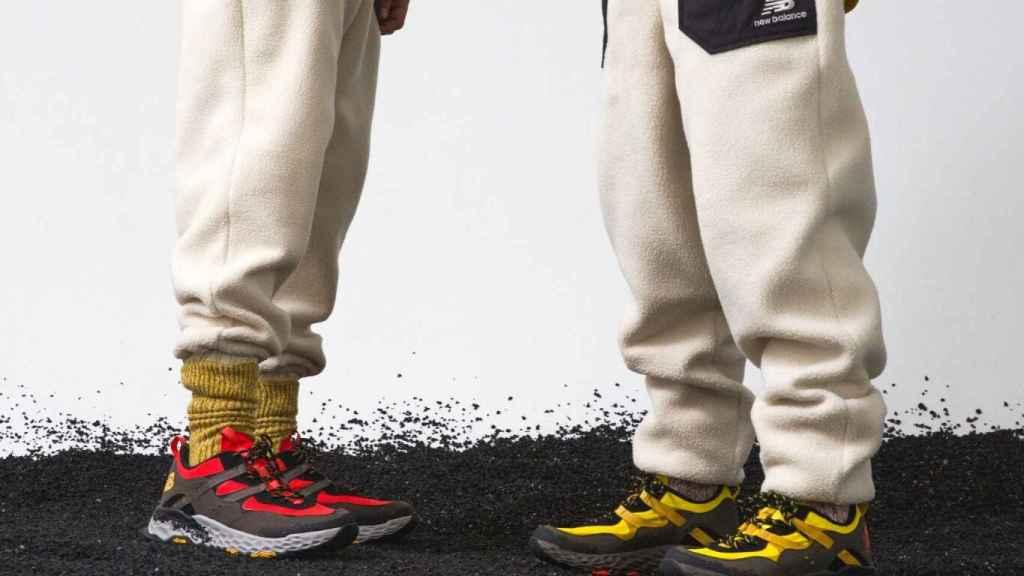 Los dos modelos de la nueva colección cuentan con prendas a juego para combinar.